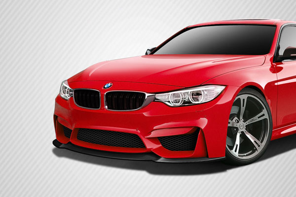 Carbon Creations 113169: 2012-2016 BMW 3 Series F30  DriTech M3 Look Front Splitter ( must be used with M3 Look front bumper ) - 1 Piece