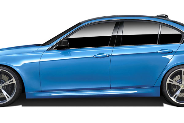 Couture 112505: 2012-2016 BMW 3 Series F30 Couture M3 Look Side Skirts - 2 Piece