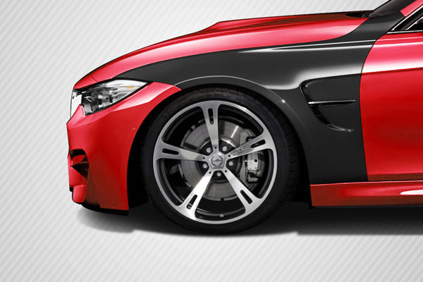 Carbon Creations 113171: 2012-2016 BMW 3 Series F30 Carbon Creations DriTech M3 Look Front Fenders - 4 Piece