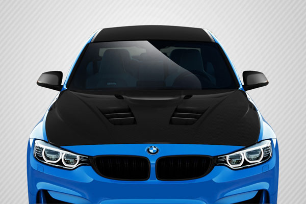 Carbon Creations (113172) 2012-2016 BMW 3 Series F30 / 2014-2016 4 Series F32 Carbon Creations DriTech Eros Version 1 Hood - 1 Piece