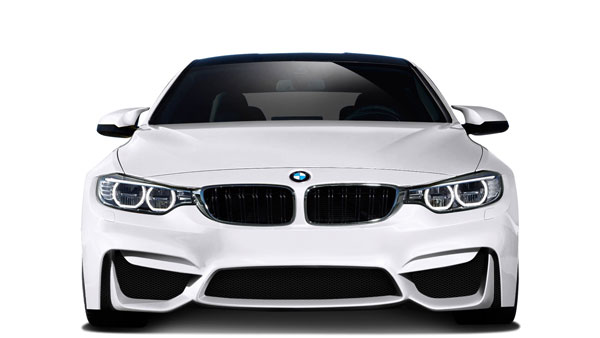 Couture 112514: 2014-2016 BMW 4 Series F32 Couture M4 Look Front Bumper - 1 Piece