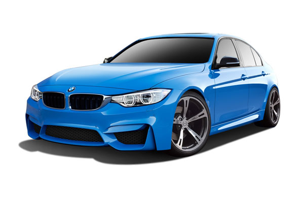 Couture 112529 | 2012-2016 BMW 3 Series F30 Couture Duraflex M3 Look Body Kit - 5 Piece