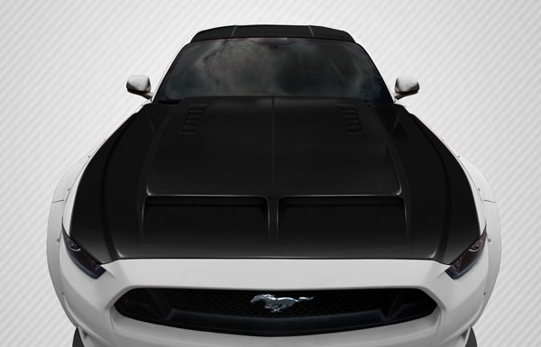 Carbon Creations 112581: 2015-2016 Ford Mustang  GT500 Hood - 1 Piece