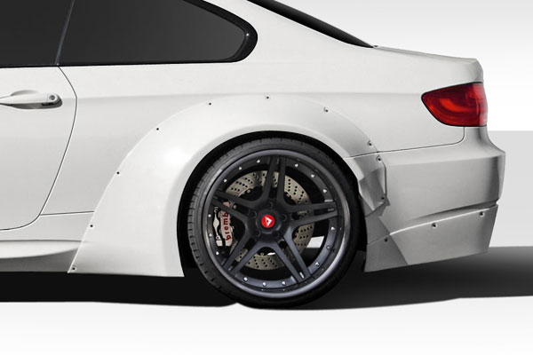 Duraflex (112600) 2007-2013 BMW M3 E92 E93 Duraflex Circuit Wide Body Rear Fender Flares - 4 Piece