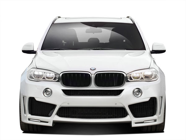 Aero Function 112657: 2014-2015 BMW X5 F15 AF-1 Wide Body Front Bumper Cover ( PUR-RIM )- 1 Piece