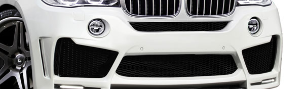 Aero Function 112658 |  2014-2015 BMW X5 F15 AF-1 Wide Body Front Bumper Air Intake ( GFK ) - 2 Piece