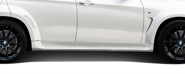 Aero Function 112659: 2014-2015 BMW X5 F15 AF-1 Wide Body Side Skirts ( PUR-RIM ) - 2 Piece