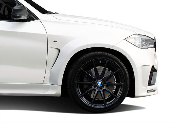 Aero Function 112661 |  BMW X5 F15 AF-1 Wide Body Front Fender Flares ( PUR-RIM ) 2-Piece; 2014-2015