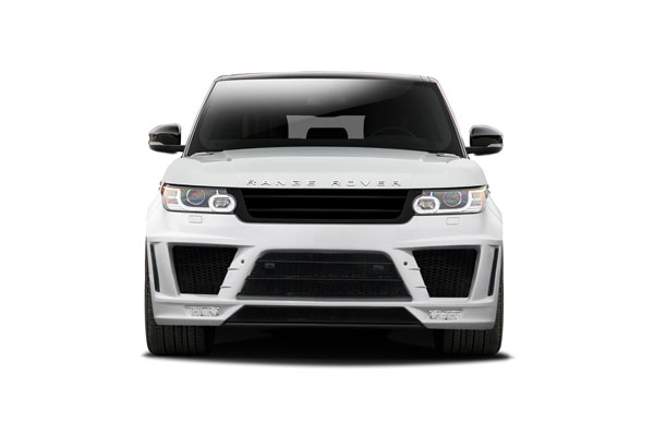 Aero Function 112670:  2014-2015 Land Rover Range Rover Sport AF-1 Front Bumper ( PUR-RIM ) - 1 Piece