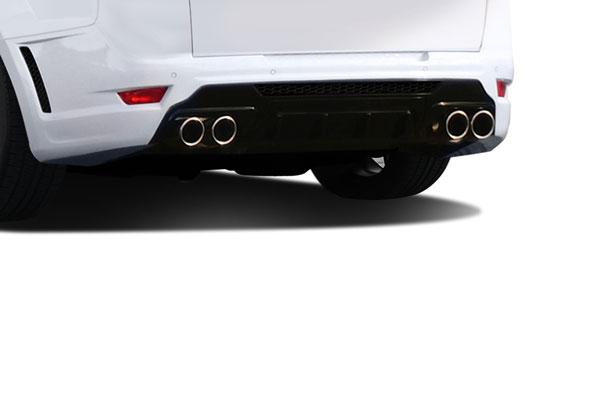 Aero Function 112674 |  Land Rover Range Rover Sport AF-1 Rear Diffuser ( GFK ) 1-Piece; 2014-2015