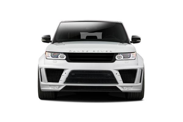Aero Function 112677 |  Land Rover Range Rover Sport AF-2 Wide Body Front Bumper ( PUR-RIM ) 1-Piece; 2014-2015