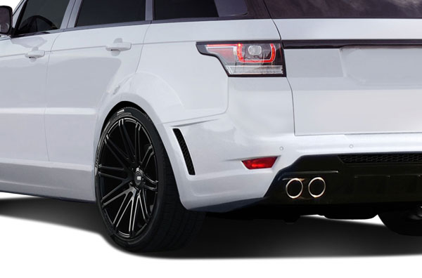 Aero Function 112680: 2014-2015 Land Rover Range Rover Sport AF-2 Wide Body Rear Fender Flares ( PUR-RIM ) - 4 Piece