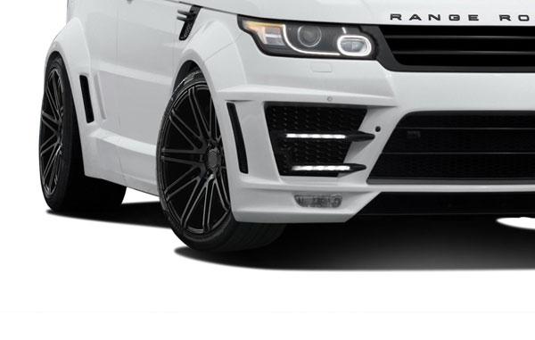 Aero Function 112683 |  Land Rover Range Rover Sport AF-2 Wide Body LED Lights 2-Piece; 2014-2015