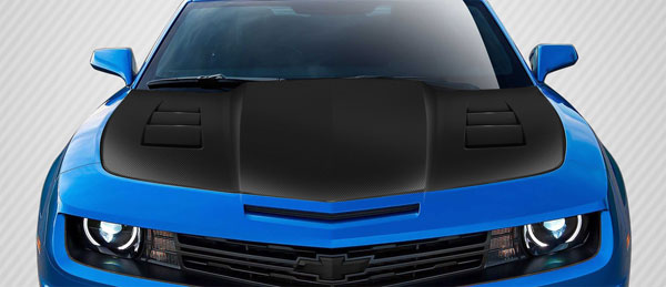 Carbon Creations 112713: 2010-2015 Chevrolet Camaro Carbon Creations TS-1 Hood - 1 Piece
