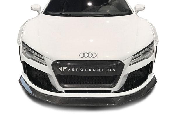 Aero Function 113094 |  Audi R8 AF Signature Series Front Splitter ( CFP ) 1-Piece; 2008-2015