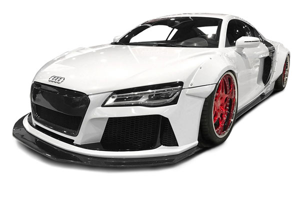 Aero Function 113311 |  2008-2015 Audi R8 AF Signature Series Wide Body Kit ( GFK ) - 8 Piece