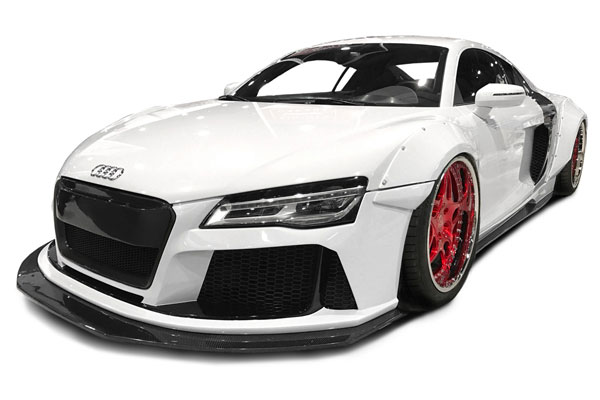 Aero Function (113312)  2008-2015 Audi R8 AF Signature Series Wide Body Kit ( GFK ) - 14 Piece