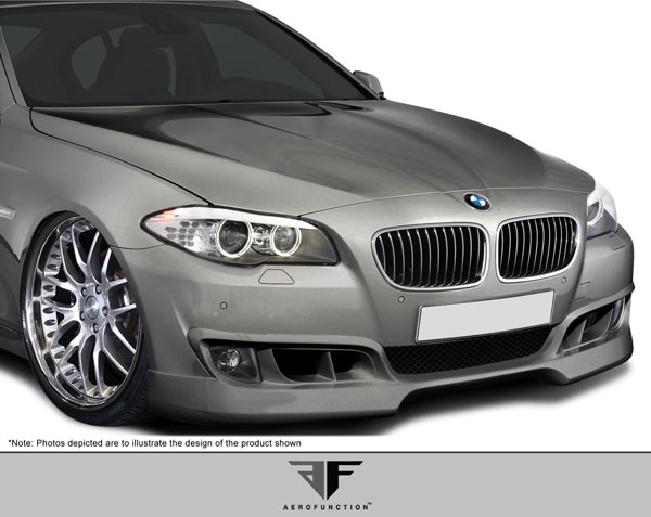 Aero Function 107935:  2011-2013 BMW 5 Series F10 AF-1 Front Add-On Spoiler ( PUR-RIM ) - 1 Piece