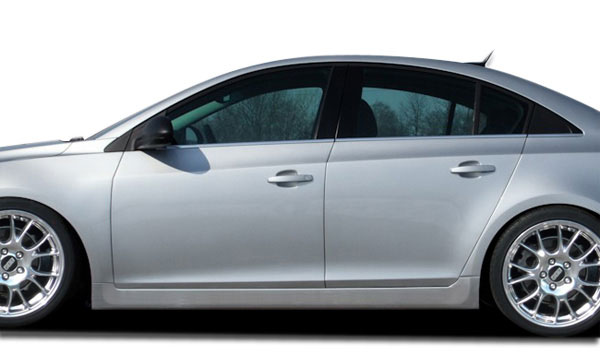 Couture 106923 | Chevrolet Cruze Couture RS Look Side Skirts Rocker Panels 2-Piece; 2011-2015