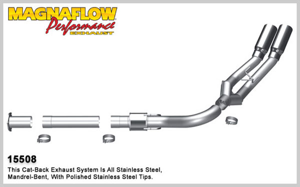 Magnaflow 15508:  Exhaust System for 2011 Ford Diesel 6.7L Du XL