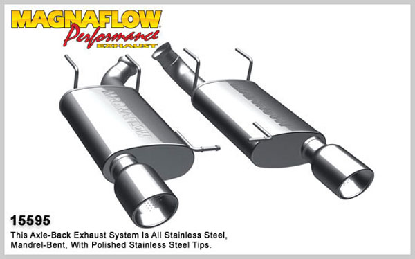 Magnaflow 15595:  Exhaust System for A/B 2011 Ford Mustang 3.7L stre V6
