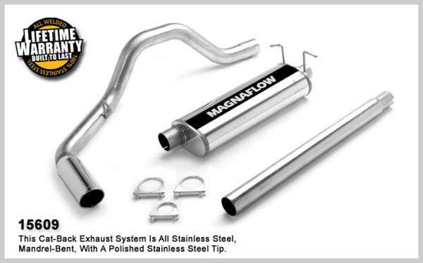 Magnaflow 15609:  Exhaust System for FORD F-150 1997-2004