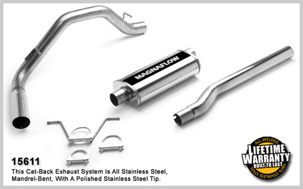Magnaflow 15611:  Exhaust System for DODGE DAKOTA 2000-2003
