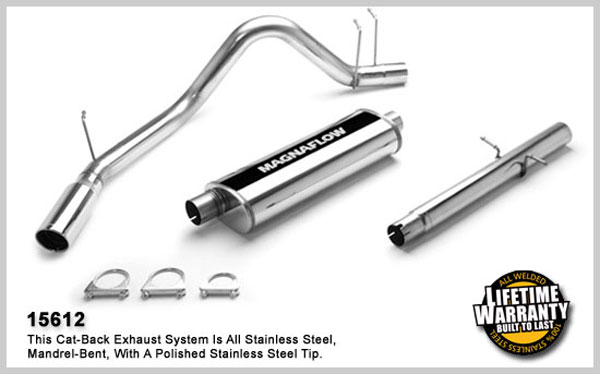Magnaflow 15612:  Exhaust System for DODGE RAM 1500 TRUCK 1995-1997