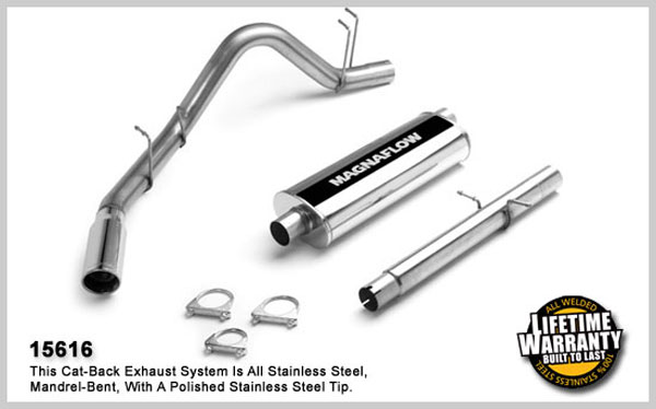 Magnaflow 15616:  Exhaust System for DODGE RAM 2500 TRUCK 1998-2001