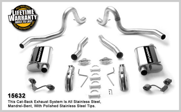 Magnaflow 15632:  Exhaust System for FORD MUSTANG V8 1987-1993