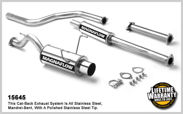 Magnaflow 15645:  Exhaust System for HONDA CIVIC DX 1992-1995