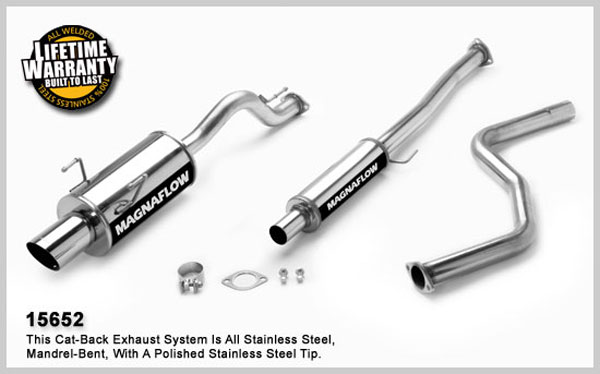 Magnaflow 15652:  Exhaust System for ACURA INTEGRA GSR 1994-1999