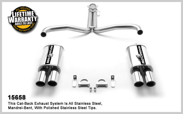 Magnaflow 15658:  Exhaust System for 1986-91 Corvette C4 L98