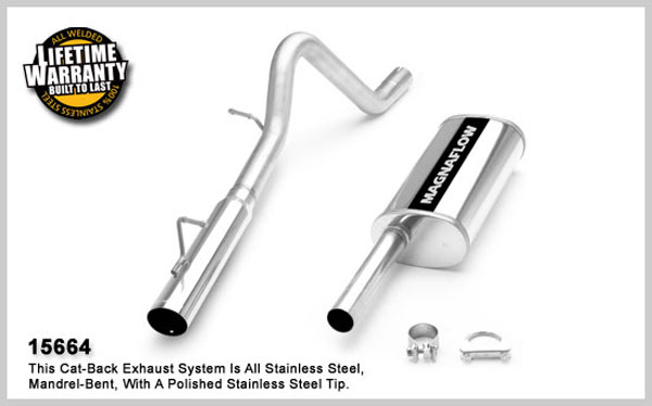 Magnaflow 15664:  Exhaust System for FORD ESCAPE 2001-2003