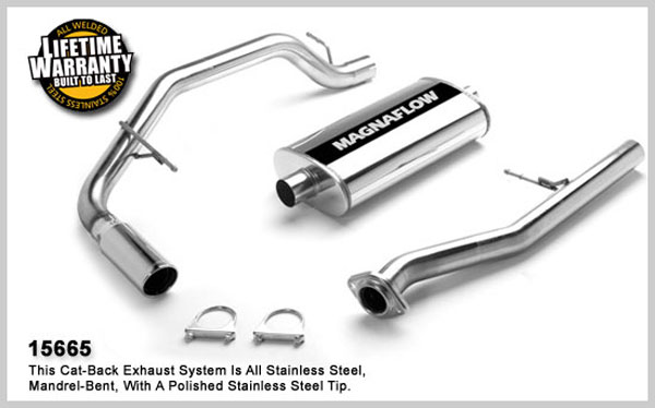 Magnaflow 15665:  Exhaust System for GMC Yukon XL 1500 2000-2006