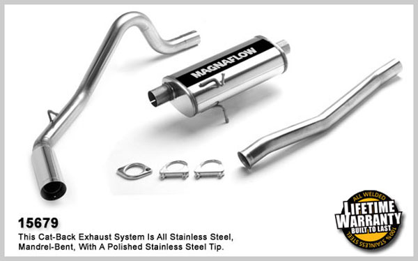Magnaflow 15679:  Exhaust System for FORD RANGER SUPER 1998-2007