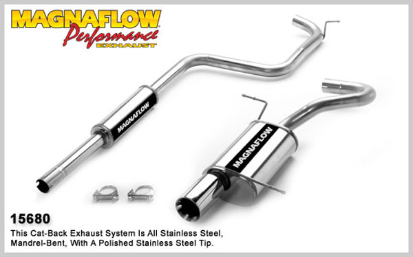 Magnaflow 15680:  Exhaust System for CHRYSLER PT CRUISER 2001-2007