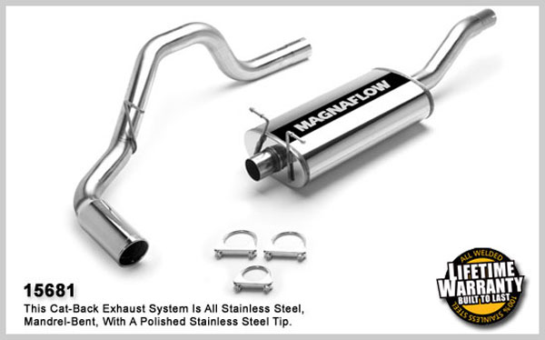 Magnaflow 15681:  Exhaust System for FORD EXPEDITION/LINCOLN NAVIGATOR 2001-2002