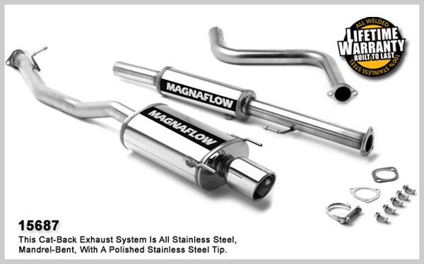Magnaflow 15687:  Exhaust System for HONDA ACCORD DX 1990-1993