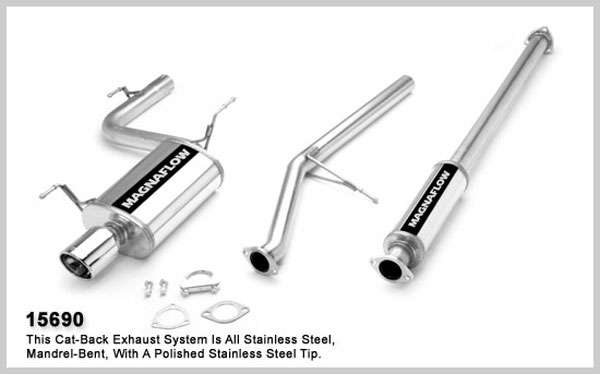 Magnaflow 15690:  Exhaust System for HONDA ACCORD DX 1998-2000