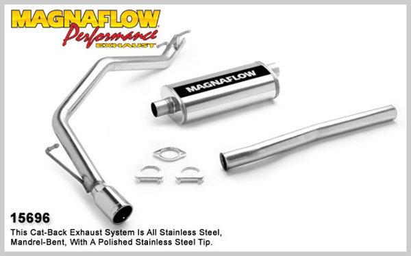 Magnaflow 15696:  Exhaust System for FORD EXPLORER SPORT TRAC 2001-2005