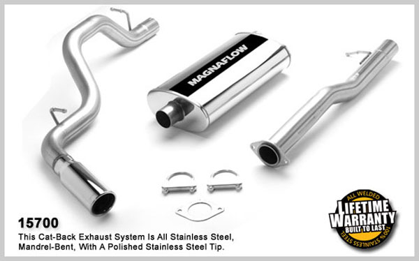 Magnaflow 15700:  Exhaust System for GM C1500 SUBURBAN 1996-1999