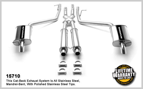 Magnaflow 15710:  Exhaust System for LINCOLN LS 2000-2002