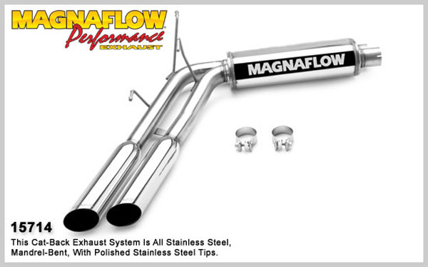 Magnaflow 15714:  Exhaust System for FORD F-150 LIGHTNING 1999-2004