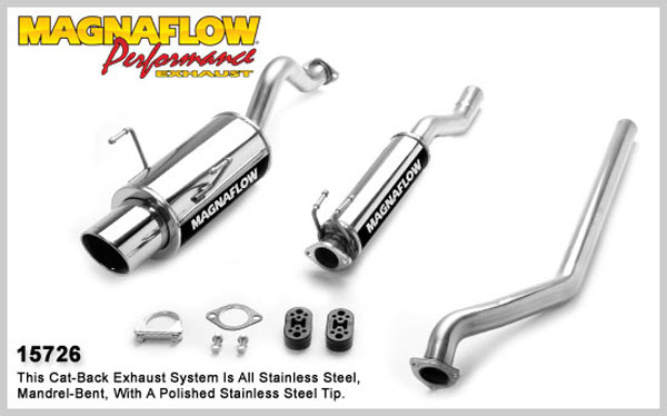 Magnaflow 15726:  Exhaust System for ACURA RSX 2002-2005
