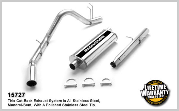 Magnaflow 15727:  Exhaust System for DODGE RAM 1500 TRUCK 1998-2001