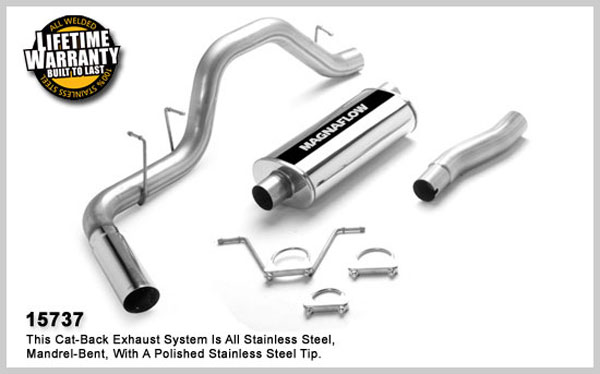 Magnaflow 15737:  Exhaust System for DODGE DAKOTA 2000-2003