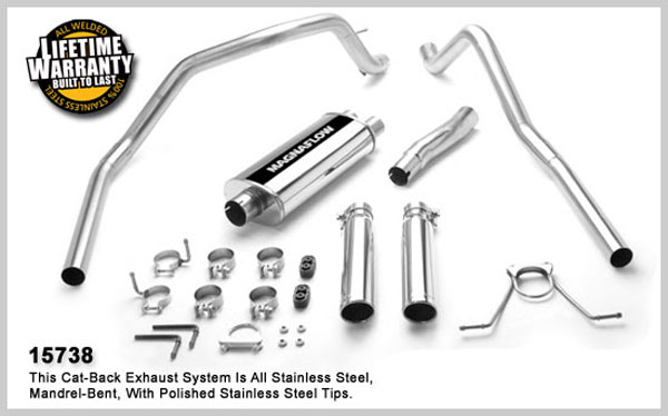 Magnaflow 15738:  Exhaust System for DODGE DAKOTA 2000-2003