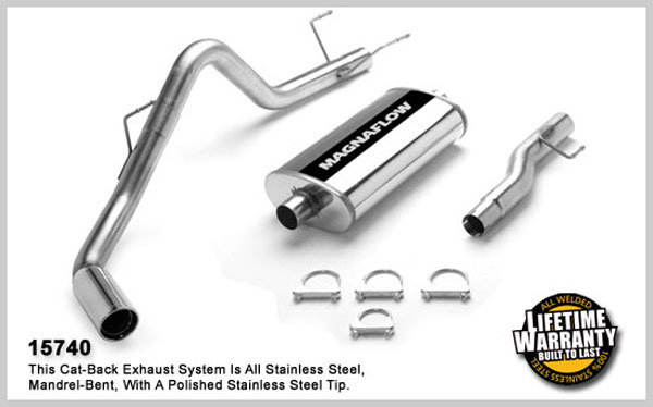 Magnaflow 15740:  Exhaust System for DODGE RAM 1500 TRUCK 2002-2003