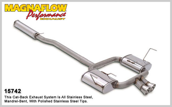 Magnaflow 15742:  Exhaust System for MINI COOPER S 2002-2003